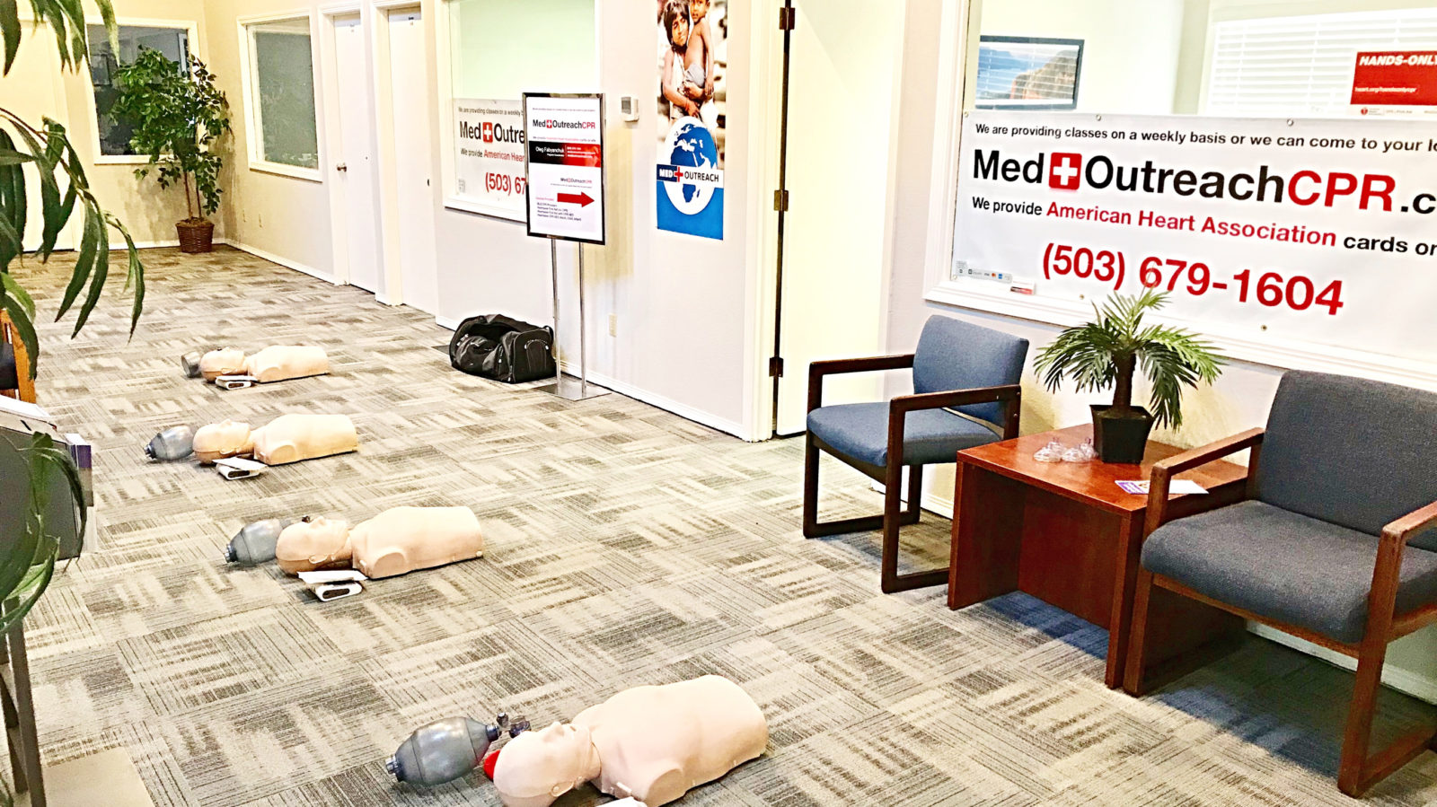 Medoutreach Cpr Bls Aed First Aid Portland Metro Area